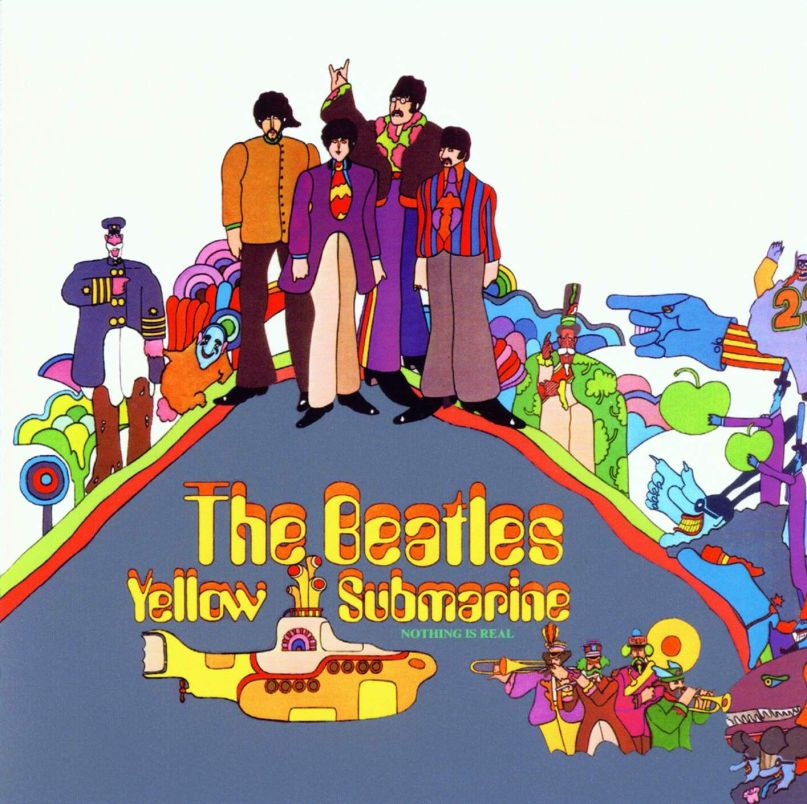 the beatles yellow submarine album cover artwork
