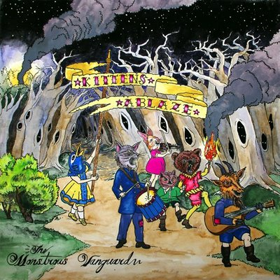 kittens ablaze the monstrous vanguard CoS Year End Report: The Top 100 Albums of 09: 25 1