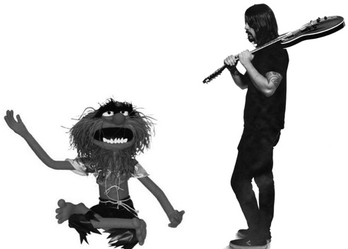 animal grohl1 Dave Grohl to make cameo in upcoming Muppets film