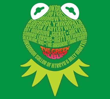 muppets452 Muppets: The Green Album to feature My Morning Jacket, Weezer, Andrew Bird