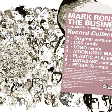 tumblr lo0t8jsczp1qmwe8eo1 cover Mark Ronson readies Record Collection 2012 single for September