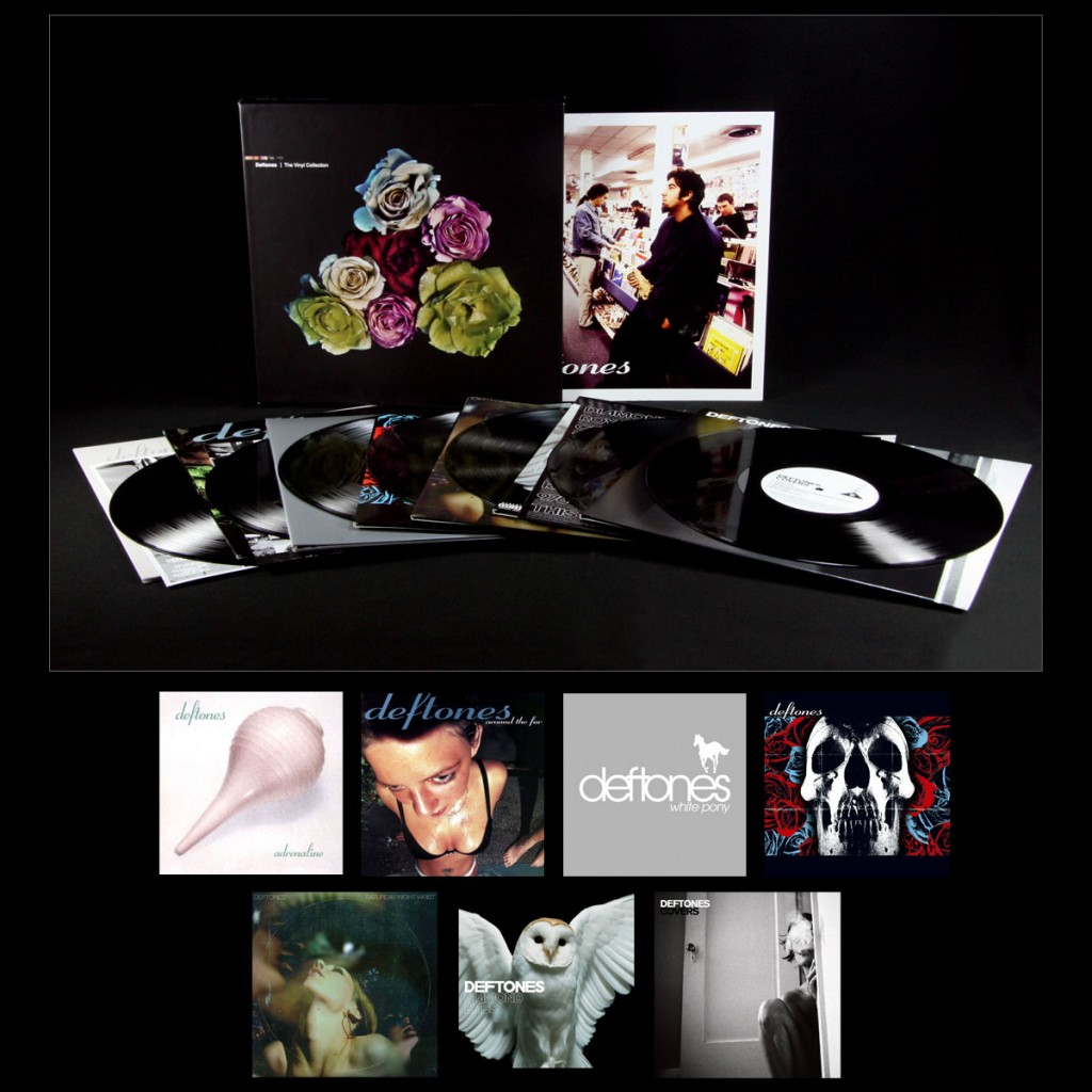 deftones the vinyl collection 1024x1024 Giveaway: Deftones: The Vinyl Collection, 1995 2011