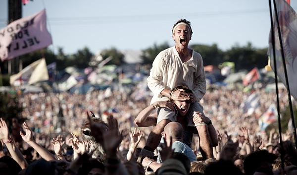 Glastonbury Festival 2011.