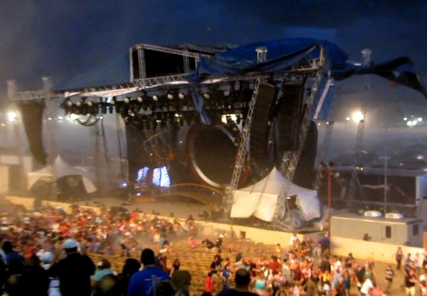 stage collapse Top Stories of 2011