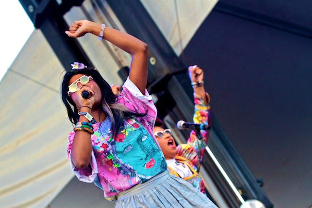 santigold.2.fri  Video: Santigold debuts new songs live