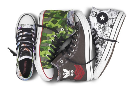 gorillaz shoes Giveaway: Win a pair of Gorillaz Converse