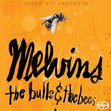 luka82271 melvinsbeesbullscd800 1 Scion A/V to release new Melvins EP: The Bulls and the Bees