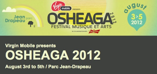 osheaga 20121 Osheaga 2012 adds The Jesus and Mary Chain, Common, Santigold