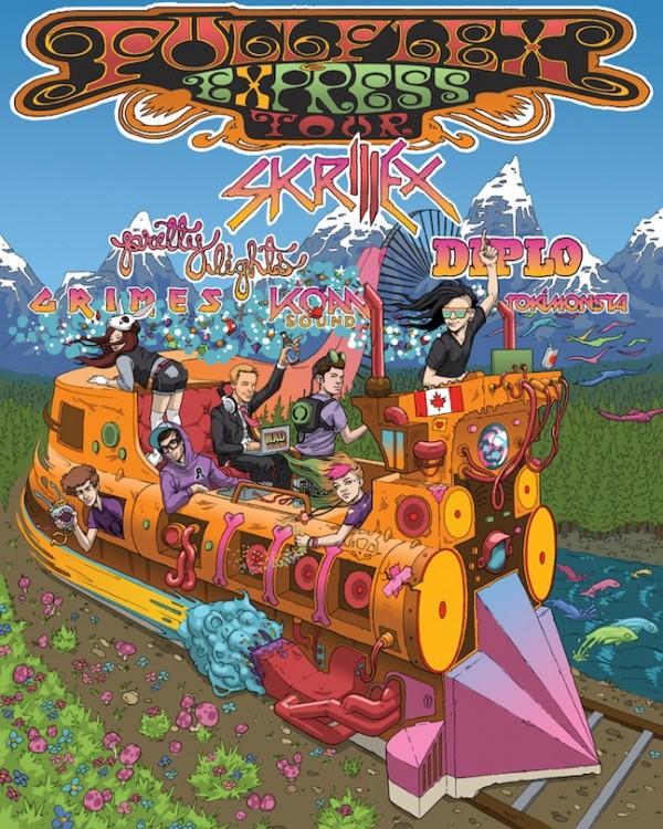 full flex express tour Summer Concert Tour Guide 2012