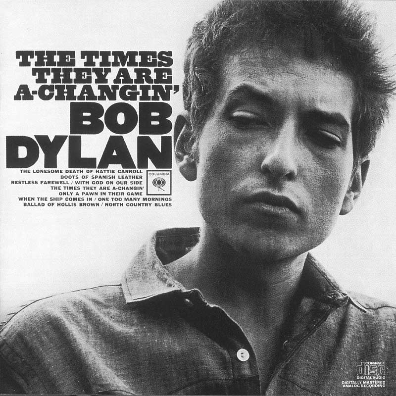 bob dylan the times Top 100 Songs Ever: 100 51