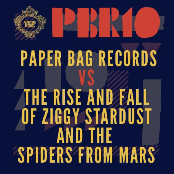 Paper Bag Records covers David Bowies Ziggy Stardust