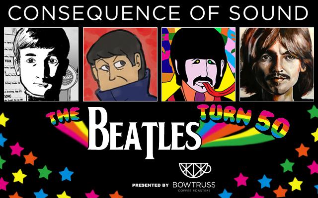 beatles comp The Beatles Turn 50