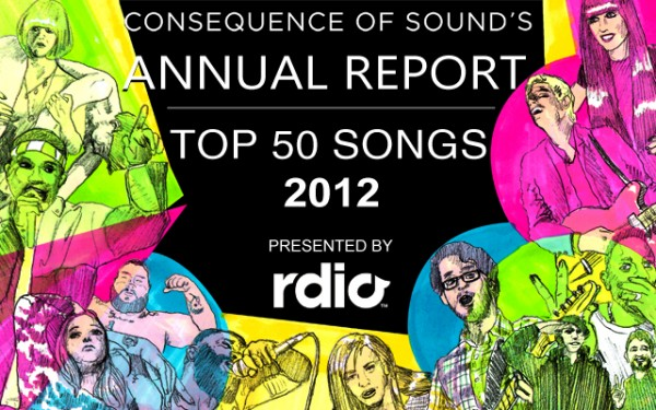 annual report songs e1354807570564 Top 50 Songs of 2012
