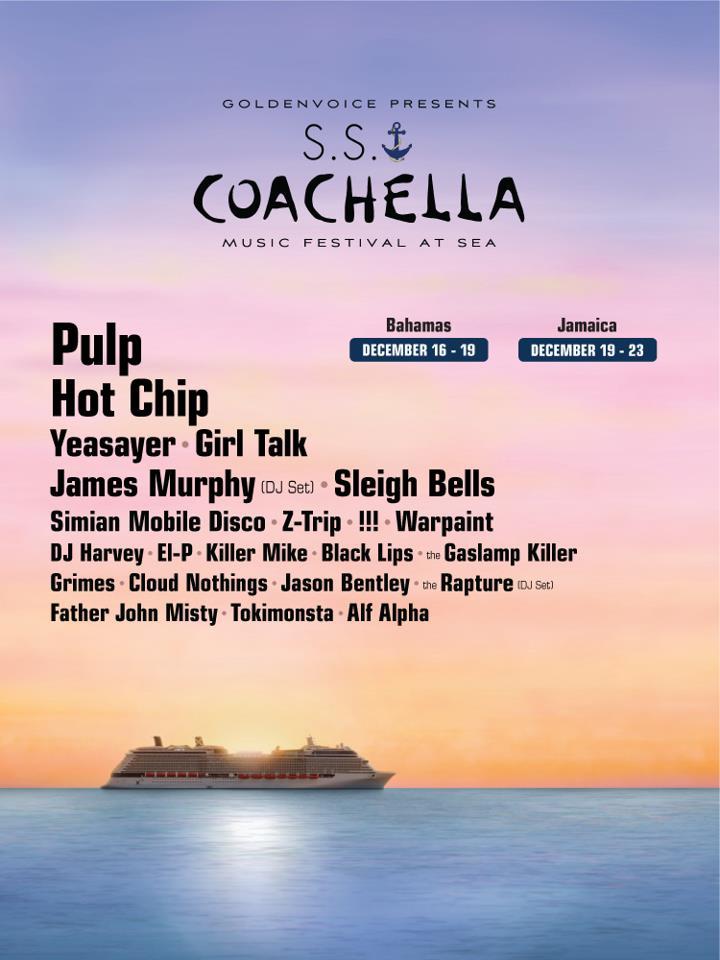 coachella cruise A Sea of Pulp: Writings Aboard S.S. Coachella