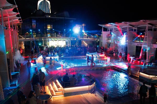 pool night A Sea of Pulp: Writings Aboard S.S. Coachella