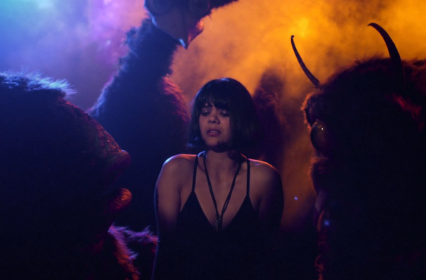 bat for lashes lillies 600 Watch Bat for Lashes chill with monsters in the video for Lillies