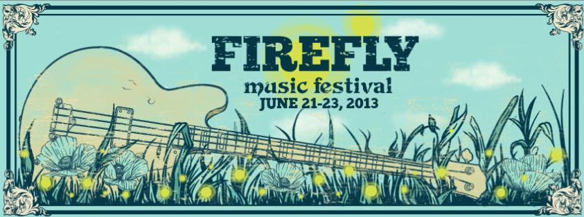 firefly 2013 Firefly Music Festival 2013 lineup revealed