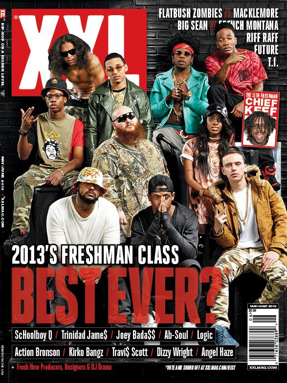 xxl 2013 freshman class cover Watch XXL Freshmen cypher, freestyles from Action Bronson, Joey Bada$$ & Angel Haze