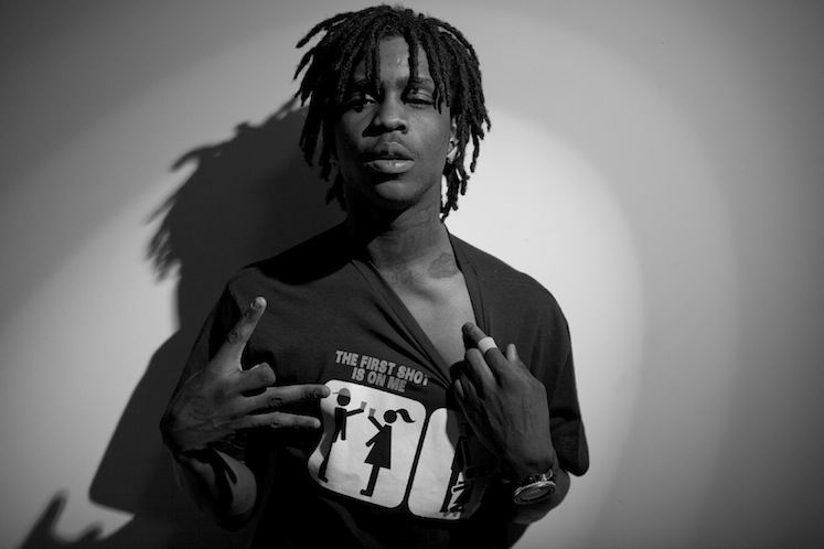 chiefkeef1 Chief Keef arrested for speeding, clocked going 110 mph