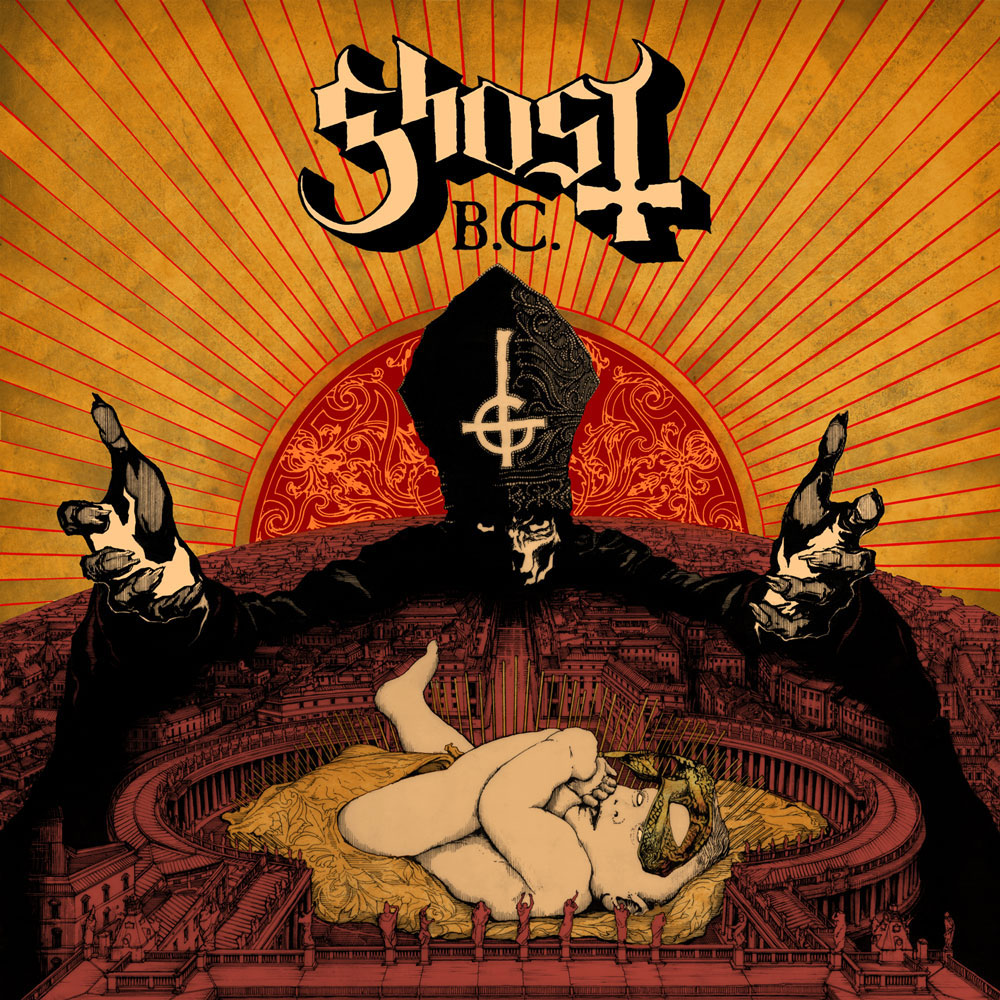 ghost infestissumam Listen to Ghost B.C.s theatrical cover of Depeche Modes Waiting for the Night