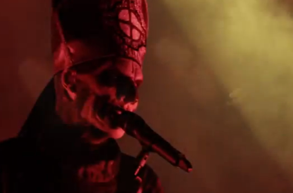 ghostvideo Watch Ghost B.C.s terrifying video for Monstrance Clock