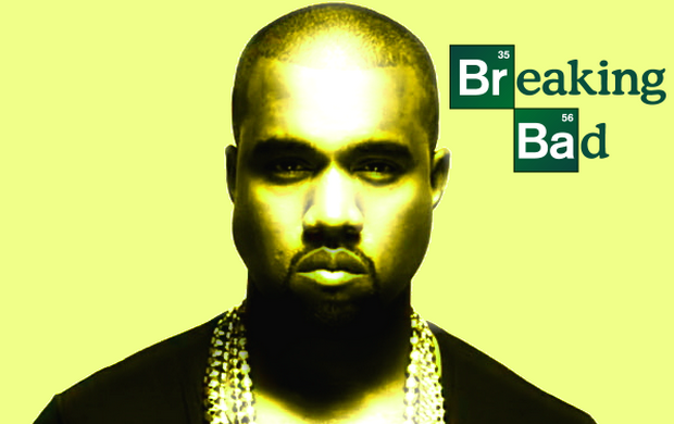 kanyebreakingbadfeature Breaking Bad: Our 10 Favorite Musicians Turned Villains