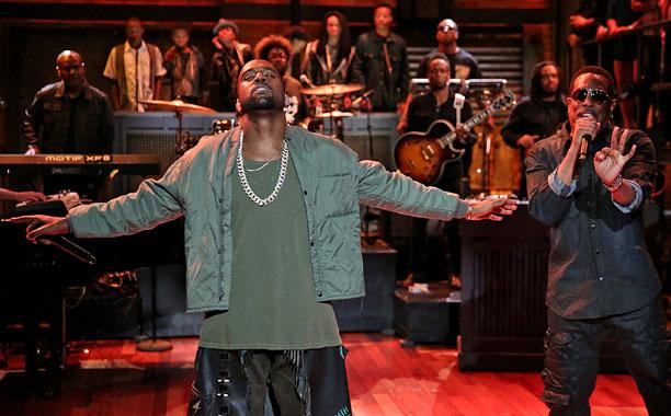 kanyt west fallon I Believe in Kanye West