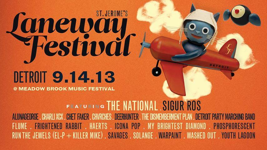 lanewayfestivaldetroit 11 Globe Spanning Sets at Detroits Laneway Festival 2013