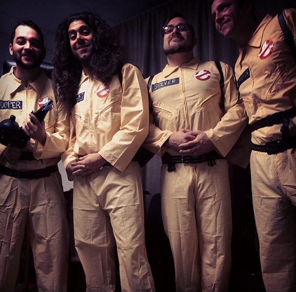coheedbusters What Your Favorite Musicians Wore For Halloween