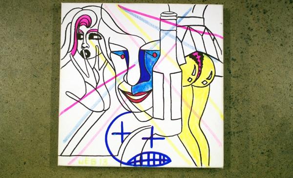 willis St. Vincent, Animal Collective, Vampire Weekend contribute artwork for FBi fundraiser