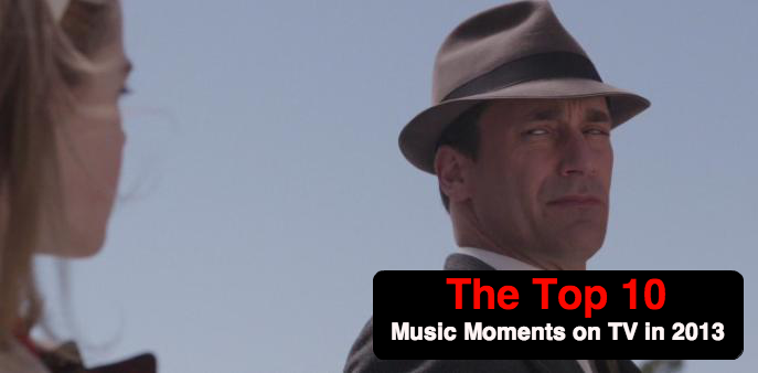 tvmoments2013 The Top 10 Music Moments on Television in 2013