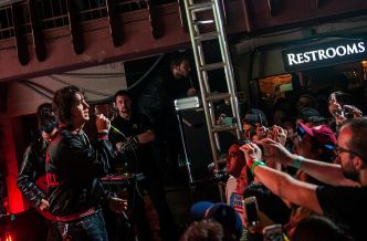 Julian Casablancas + The Voidz // Photo by David Hall