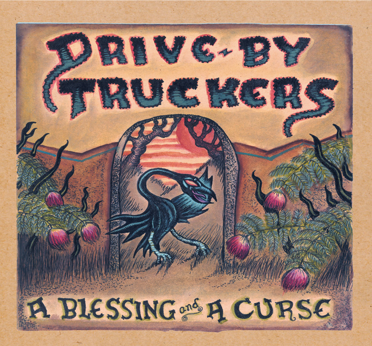 blessing cover72 Album Art of the Month: Drive By Truckers – English Oceans