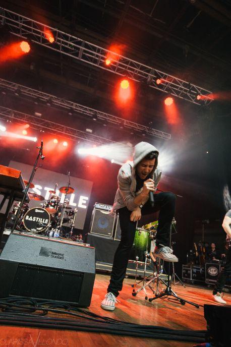 Bastille // Photo by Clarissa Villondo