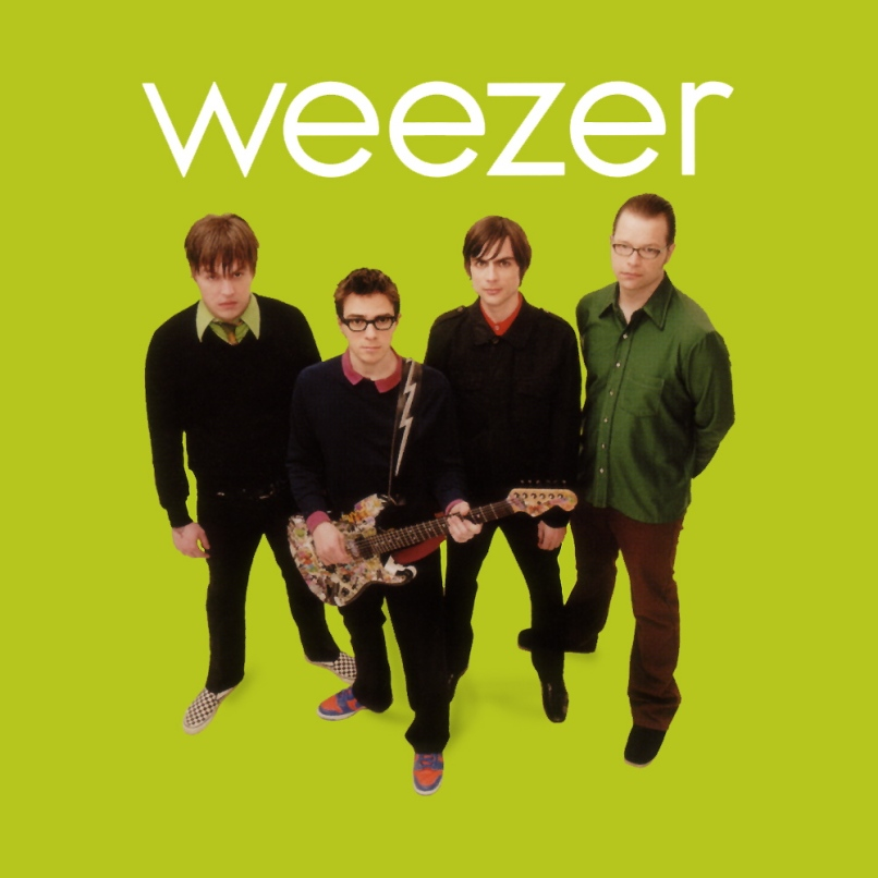 weezer   2001 weezer the green album Ranking: Every Weezer Album from Worst to Best