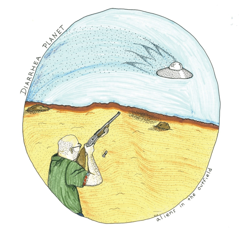 Diarrhea Planet - Aliens in the Outfield - Hi Res Cover