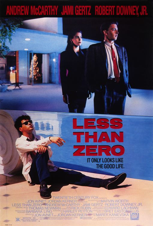less than zero Robert Downey, Jr.s Top 10 Performances