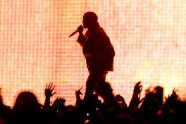 Kanye West // Photo by Philip Cosores
