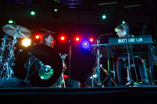 Matt & Kim // Photo by Philip Cosores