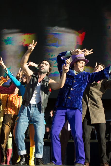 The Beatles LOVE by Cirque Du Soleil // Photo by Philip Cosores