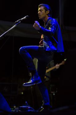 Arctic Monkeys // Photo by Philip Cosores