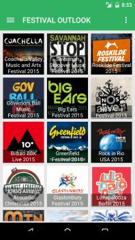 Festival Outlook Screen