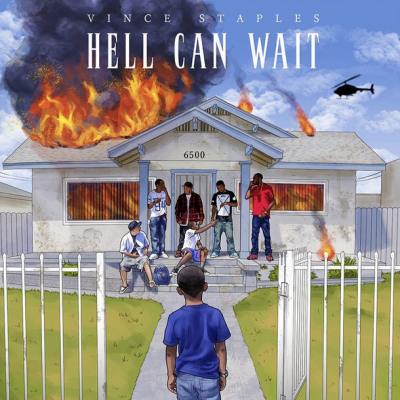 vince staples hell can wait cover e1416405383656 Top 50 Songs of 2014