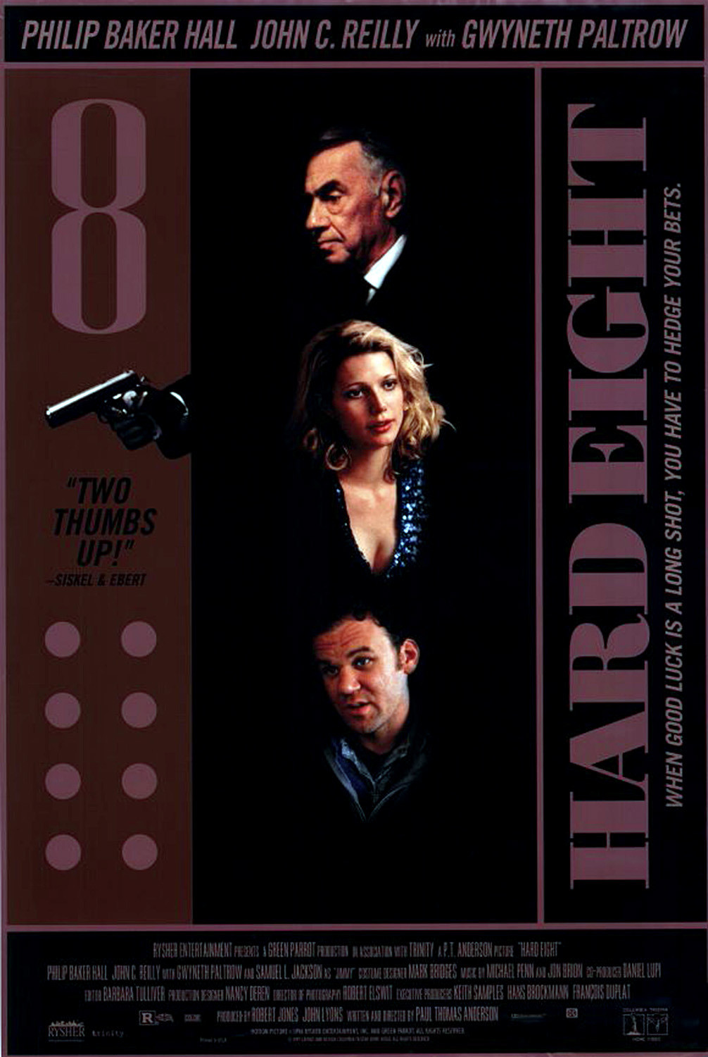 hard eight poster Ranking: Every Paul Thomas Anderson Movie from Worst to Best