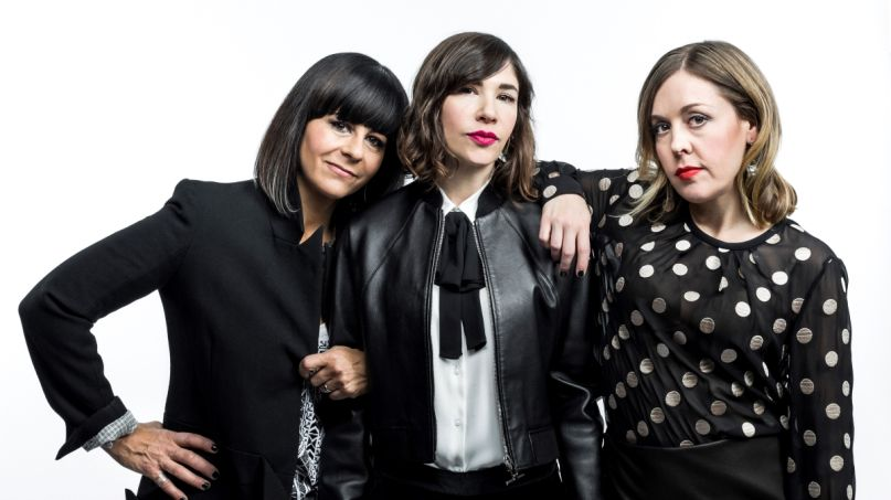 Sleater-Kinney, Photo by Chad Batka