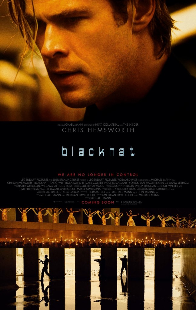 blackhat poster The 50 Most Anticipated Films of 2015