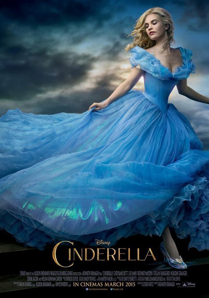 cinderella poster The 50 Most Anticipated Films of 2015
