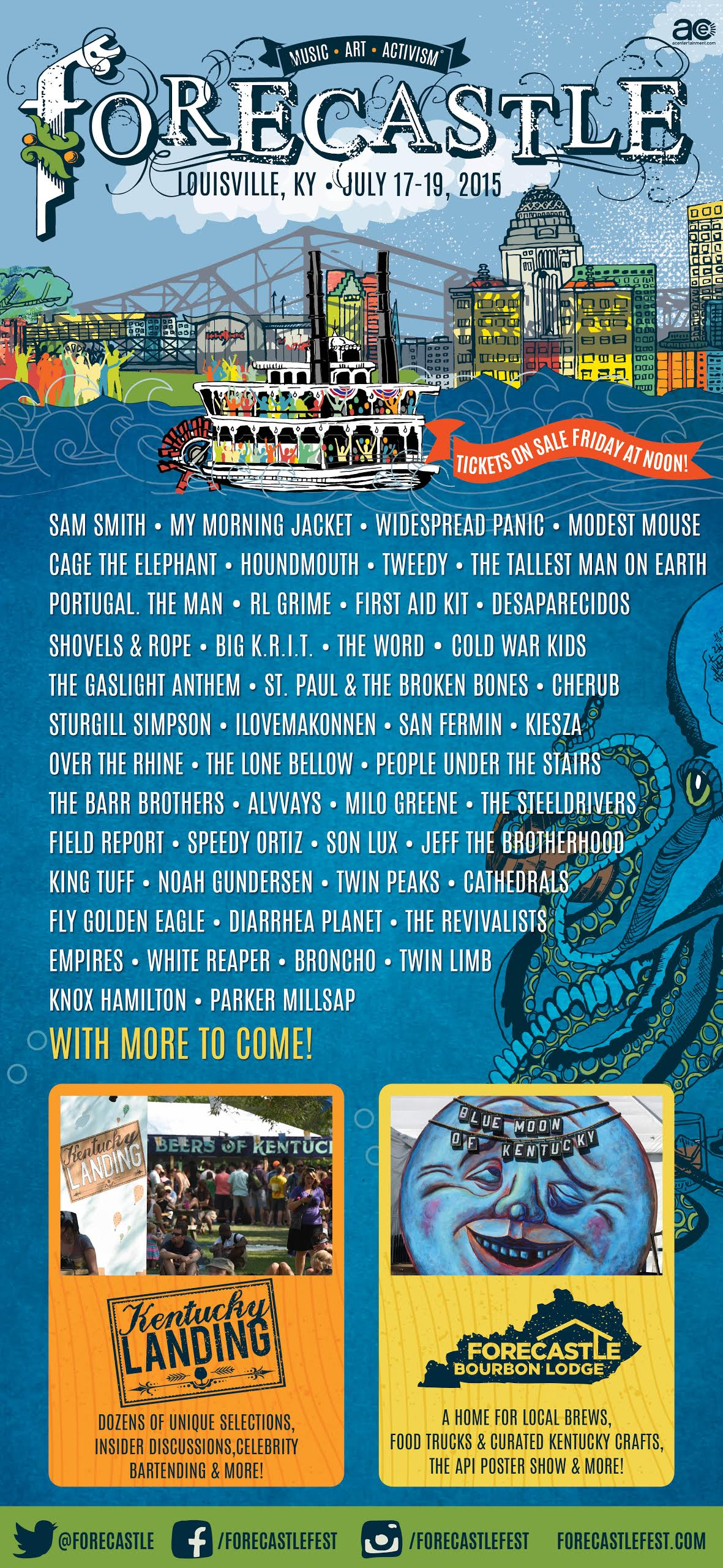 forecastle The Forecastle Festival: Getting Real Lucky in Kentucky