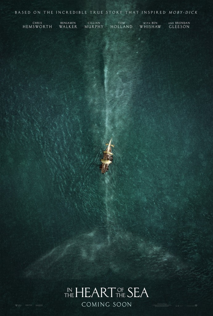 in the heart of the sea poster The 50 Most Anticipated Films of 2015