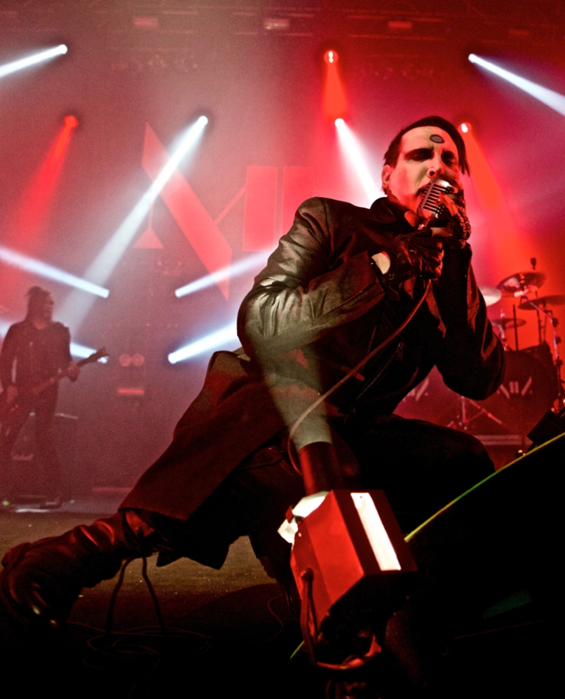 Marilyn Manson in Concert NYC